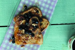 Spiced French Toast with Walnts and Mayple Syrup (1)