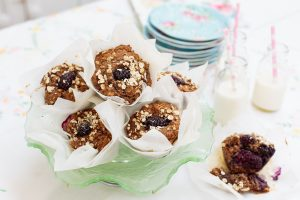 Blackberry & Apple Breakfast Muffins, Sharon hearne Smith, Healthier Treats For Kids