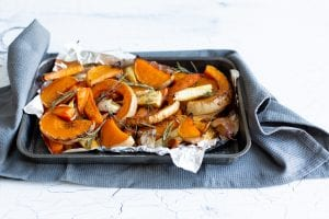 Roasted Glazed Root Veggies, honey roasted vegetables, Christmas side dishes, roasted root vegetables, I Love Cooking Christmas Sides